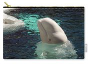 White Beluga Whale 1 Carry-all Pouch