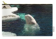 White Beluga Whale 3 Carry-all Pouch