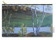 White Birch In The Landscape Carry-all Pouch