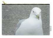 White Bird Of Alberta Carry-all Pouch