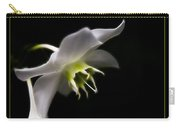 White Bloom Carry-all Pouch
