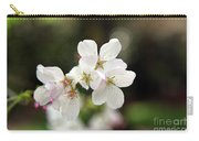 White Blossom  Carry-all Pouch