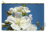 White Blossoms Art Prints Spring Tree Blossoms Canvas Baslee Troutman Carry-all Pouch