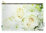 White Bouquet Carry-all Pouch
