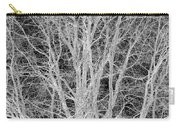 White Branches Carry-all Pouch
