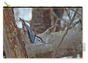 White Breasted Nuthatch - Sitta Carolinensis Carry-all Pouch