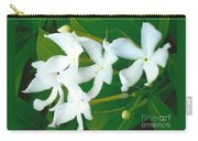 White Bridal Flowers Carry-all Pouch