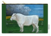 White Bull Carry-all Pouch