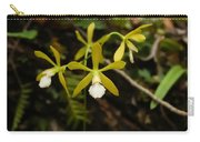White Butterfly Orchid Carry-all Pouch