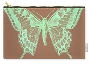 White Butterfly Swallow Tail Le Papillon Machaon Carry-all Pouch