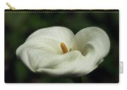 White Calla Lilly  Carry-all Pouch