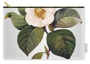 White Camellia Carry-all Pouch by Granger