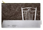 White Chair #0626 Carry-all Pouch