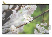 White Cherry Blossoms  Carry-all Pouch