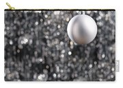 White Christmas Bauble  Carry-all Pouch