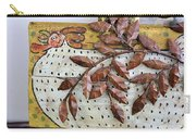 White Ckicken Carry-all Pouch