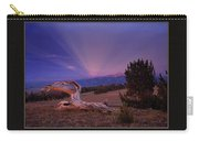 White Clouds Triptych Carry-all Pouch