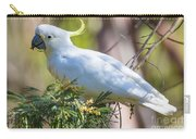 White Cockatoo Carry-all Pouch