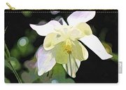 White Columbine 2 Carry-all Pouch