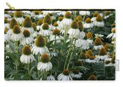 White Coneflower Field Carry-all Pouch