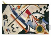 White Cross By Vassily Kandinsky Carry-all Pouch