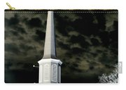 White Cross Dark Skies Carry-all Pouch