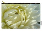 White Dahlia Flower Art Prints Dahlia Giclee Baslee Troutman Carry-all Pouch
