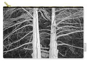 White Dead Trees Carry-all Pouch