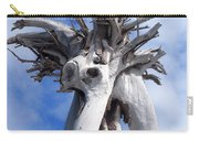 White Desert Tree Carry-all Pouch
