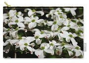 White Dogwood Carry-all Pouch