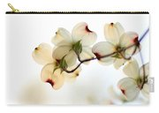 White Dogwood Flower 2 Carry-all Pouch