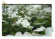 White Dogwood Flowers 6 Dogwood Tree Flowers Art Prints Baslee Troutman Carry-all Pouch