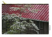 White Dogwood In The Rain Carry-all Pouch