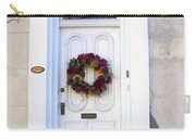 White Door In Charleston Sc Carry-all Pouch by Susanne Van Hulst