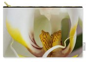 White Doritaenopsis Carry-all Pouch