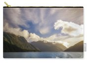 White Dragon Cloud In The Sky At Lake Manapouri Carry-all Pouch