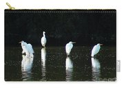 White Egrets Carry-all Pouch