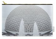 White Epcot Carry-all Pouch