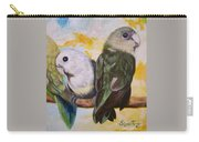 Chloe The    Flying Lamb Productions           White Faced Lovebirds Carry-all Pouch