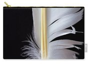 White Feather Carry-all Pouch by Bob Orsillo
