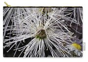 White Flora Carry-all Pouch