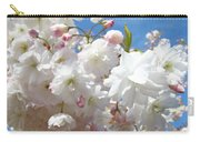 White Floral Tree Flower Blossoms Art Baslee Troutman Carry-all Pouch