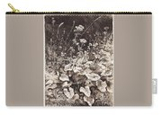 White Flowers 1877 12 3h9 Ivan Ivanovich Shishkin Carry-all Pouch
