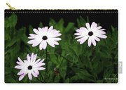 White Flowers In The Garden Carry-all Pouch
