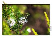 White Flowers Of Kunzea Ambigua Carry-all Pouch