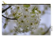 White Flowers On A Tree Carry-all Pouch