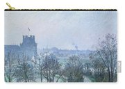 White Frost Jardin Des Tuileries Carry-all Pouch