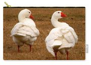 White Geese 1 Carry-all Pouch