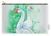 White Geese Carry-all Pouch