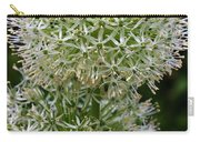 White Globe Thistle 2 Carry-all Pouch